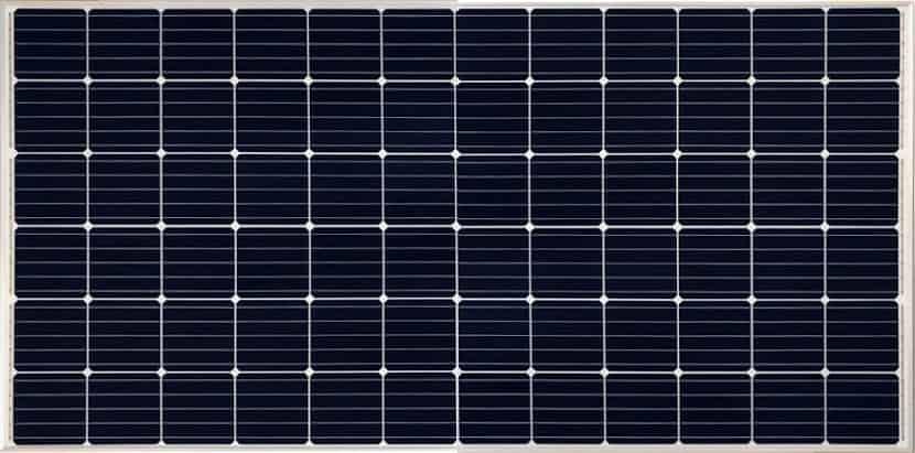 Solar panel example